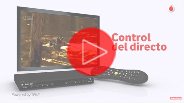 Vodafone TV - Control del directo