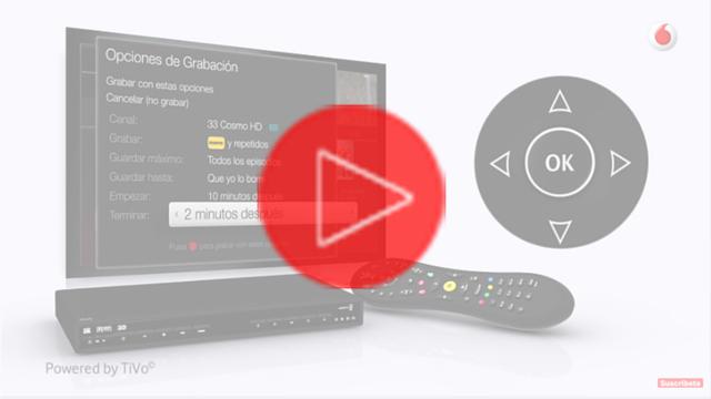 Vodafone TV-Grabación y Recuperación de programas