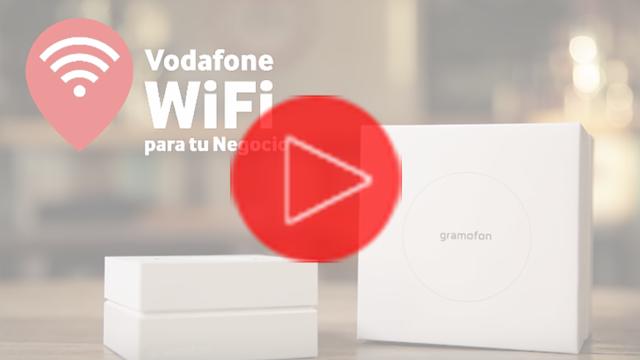 Vodafone WiFi para tu Negocio