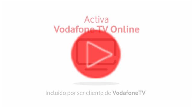 Cómo activar Vodafone TV Online