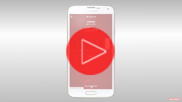 Descargar factura desde App Mi Vodafone