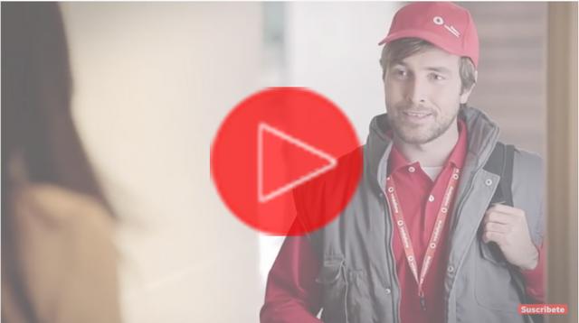 Instalación de Vodafone Fibra