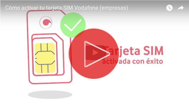 Activar tarjeta SIM