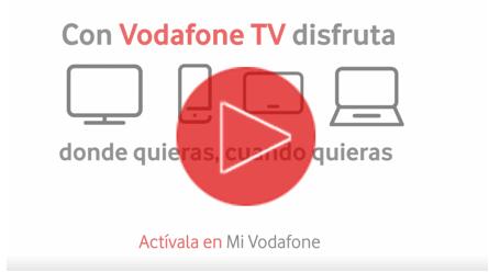 Vodafone Televisión: TV Online