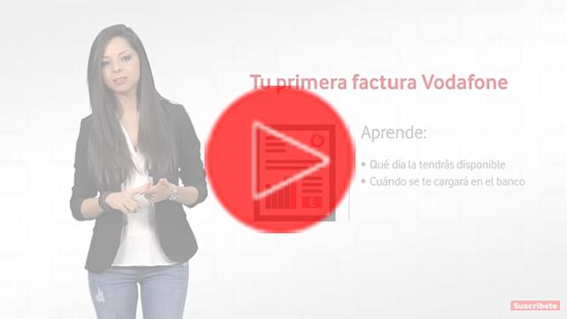Primera factura Vodafone