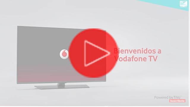 Vodafone TV la Televisión inteligente