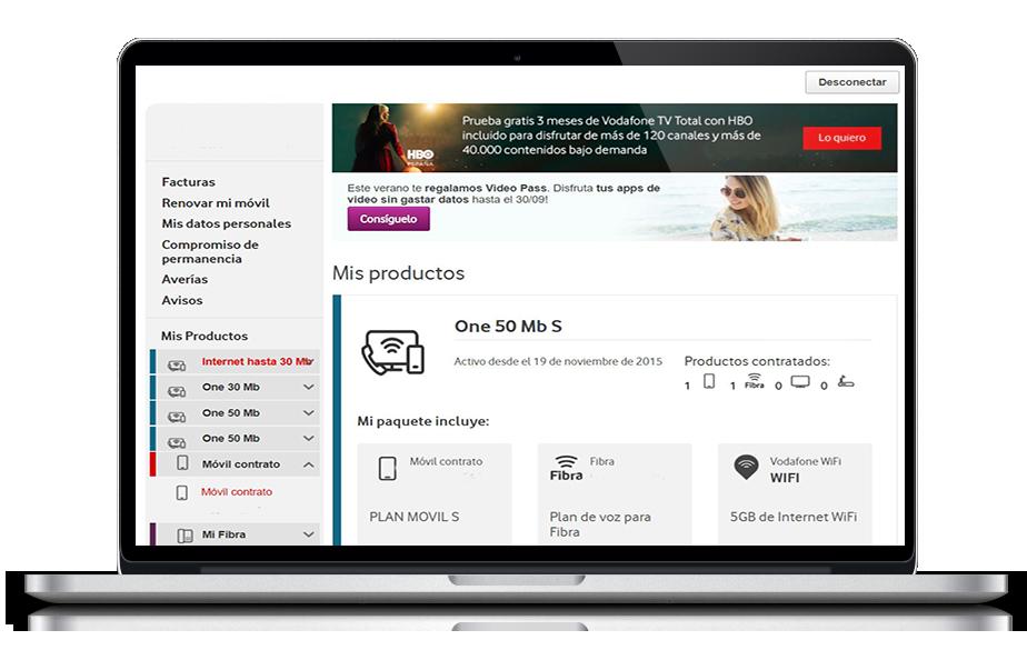 consultar y descargar facturas ayuda vodafone particulares