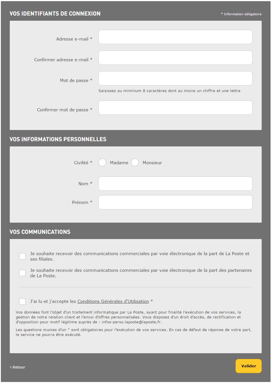 Assistance Aide En Ligne La Poste