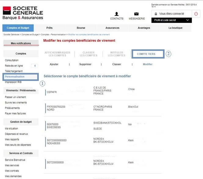 A Quoi Correspondent Les Codes Bic Et Iban Societe Generale