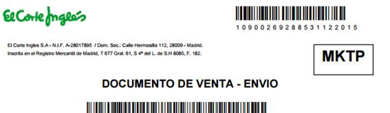 1bd3f4263a2 Un producto Marketplace es un producto vendido por terceros a través de la  web de El Corte Inglés. Para saber si un producto es Marketplace