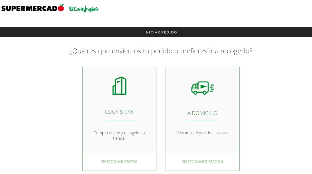 bb665440ab7 Durante todo el proceso de compra, podrás modificar la opción elegida desde  tu carro, el Checkout de tu pedido o la cabecera de la página web.